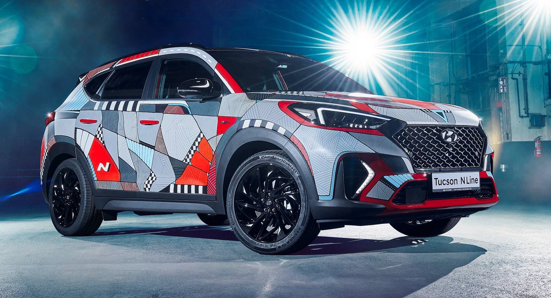"Hyundai Marks Tucson N Line Launch With ""Drive A Statement"" Art Car 