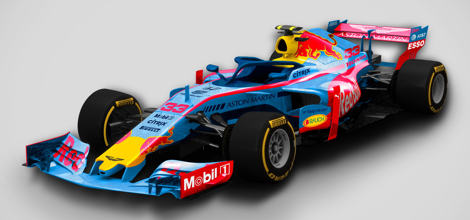 Check Out These Awesome Alternate F1 Liveries For 2019 Carscoops