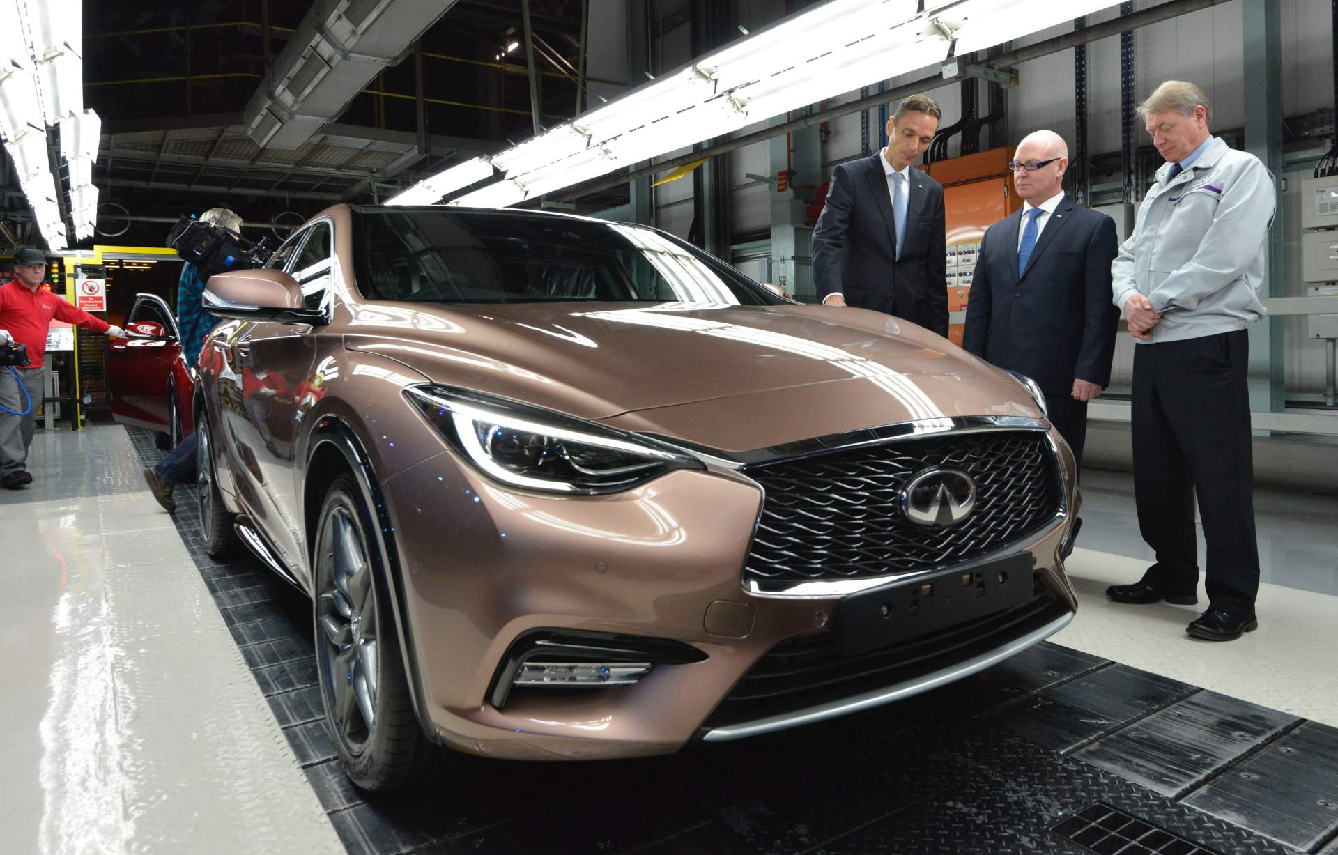 Infiniti to exit Europe, Q30 and QX30 United Kingdom production cancelled