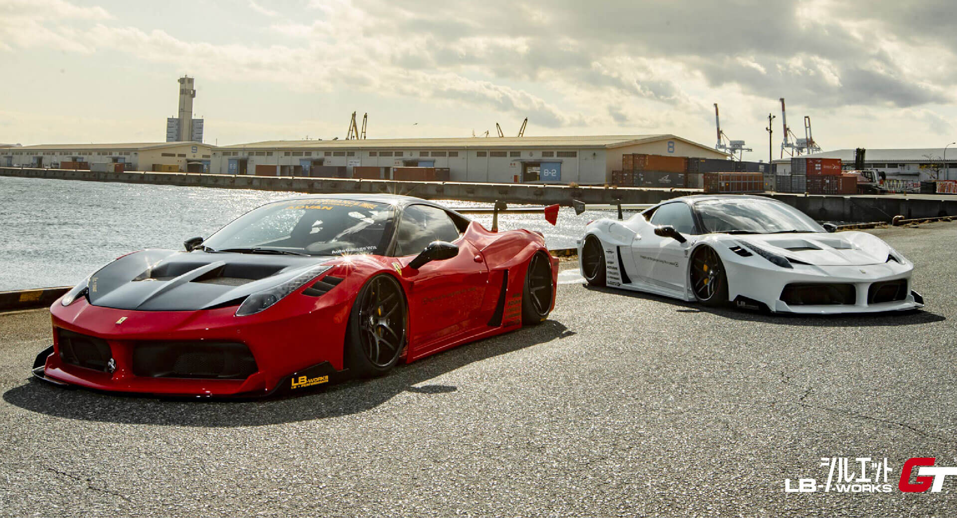 Liberty Walk Has A New Boy Racer Kit For Ferrari S 458 Italia Carscoops