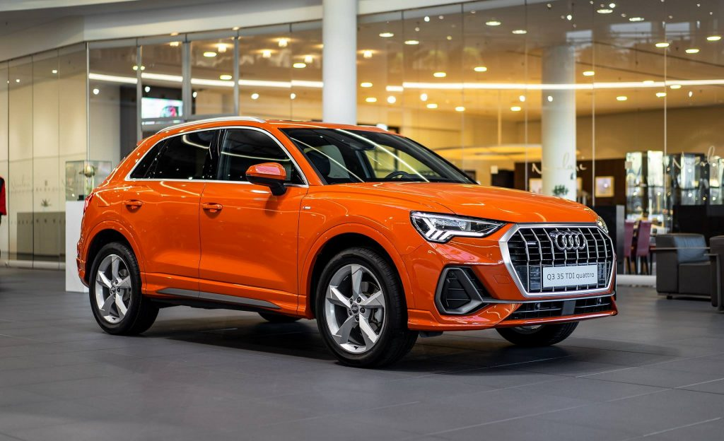 Pulse Orange Audi Q3 Sports A Colorful Alcantara Interior