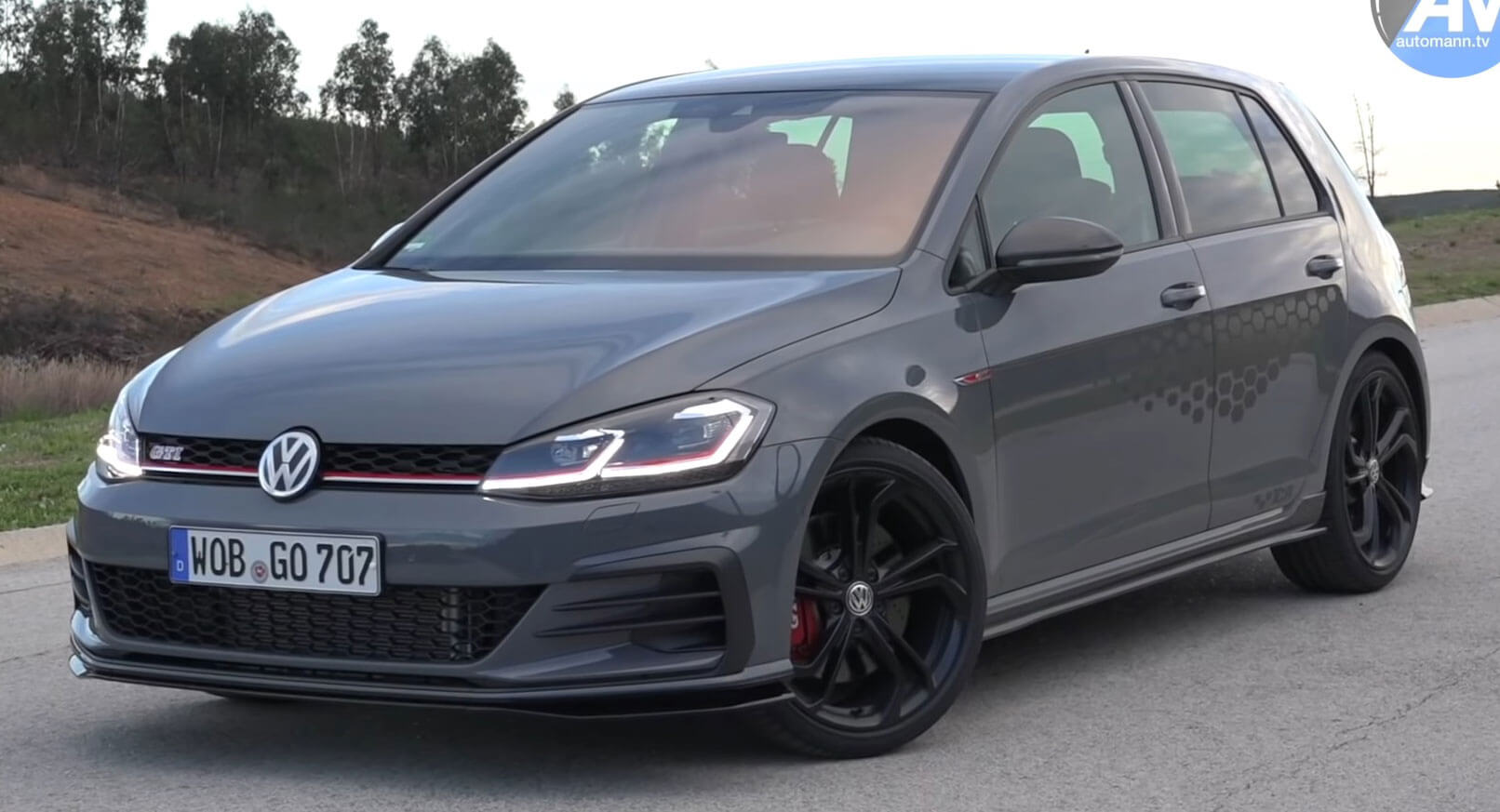 Golf Gti Tcr Is Volkswagen S Hot Hatch At Its Very Best