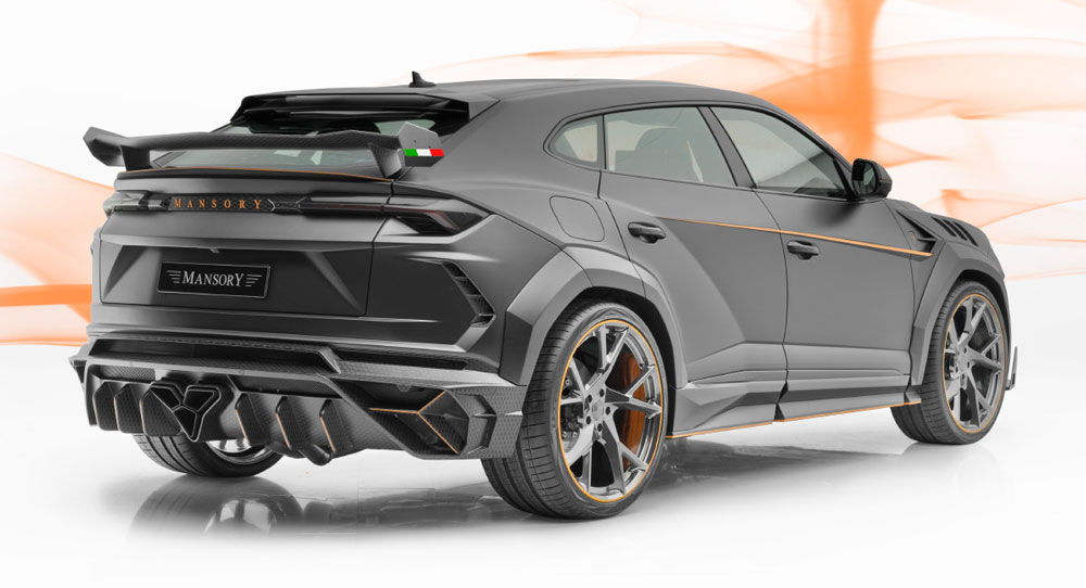 Mansory S Lamborghini Urus Venatus Is Anything But Stealthy Sandra