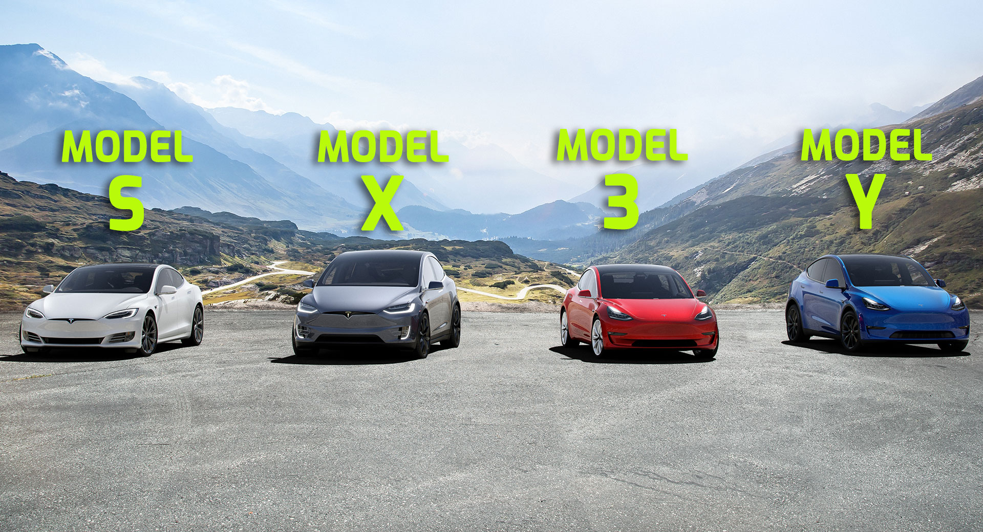 Tesla's S3XY Family Is Complete But Are They Actually Sexy ...