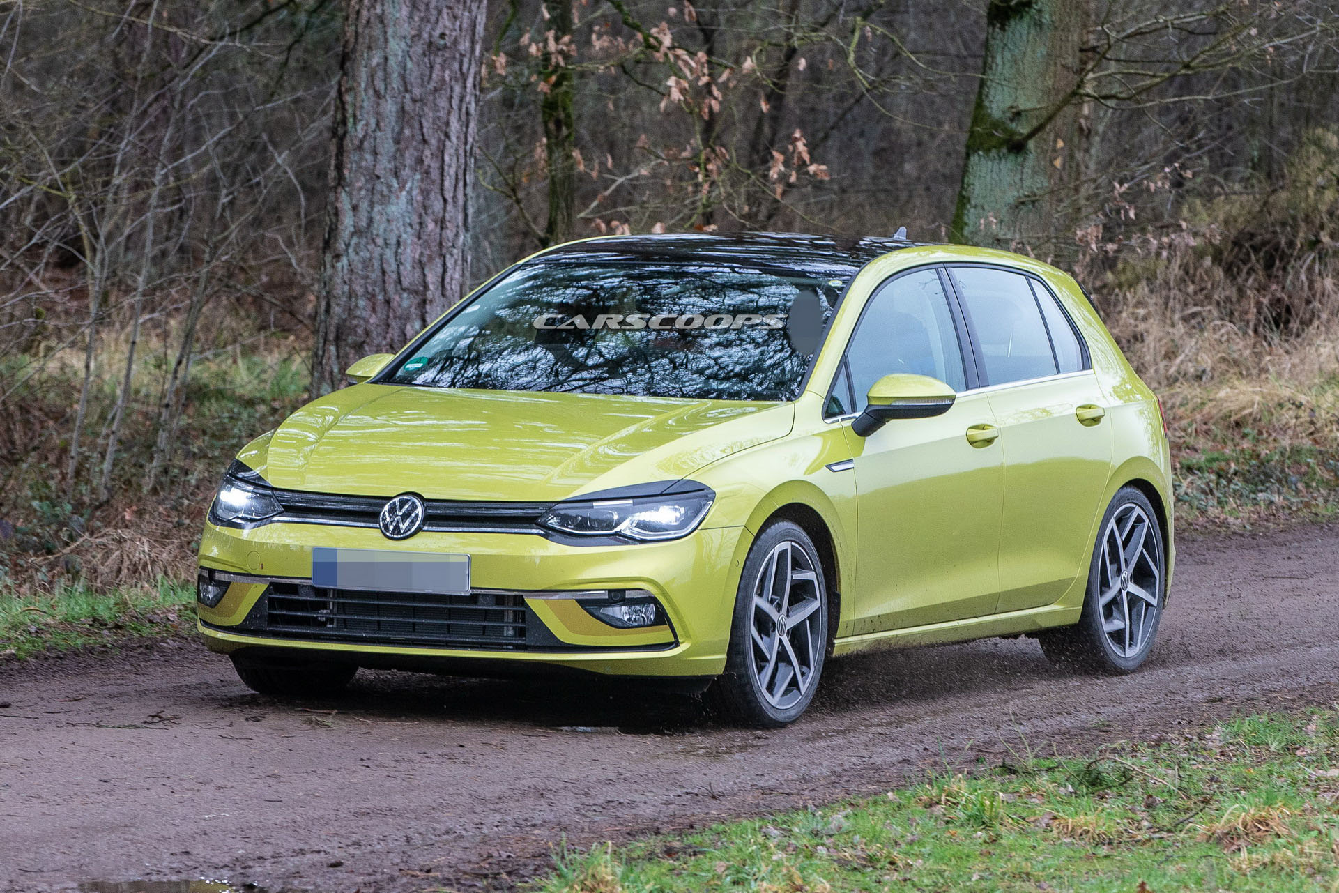 2020 vw golf mk8 to go on sale february following delays. Black Bedroom Furniture Sets. Home Design Ideas