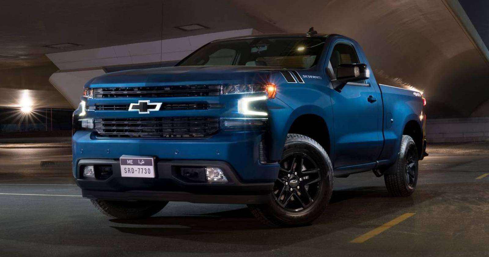 Middle East-Bound 2019 Silverado RST And Trail Boss Come ...