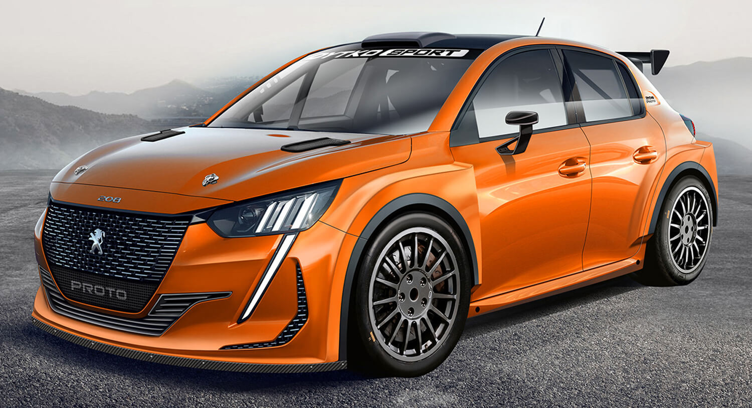 Peugeot 208 Rally Design Is What The Next Gti In Wrc Spec