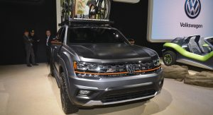 Vw Atlas Basecamp Concept Ditches Star Light For Spotlight
