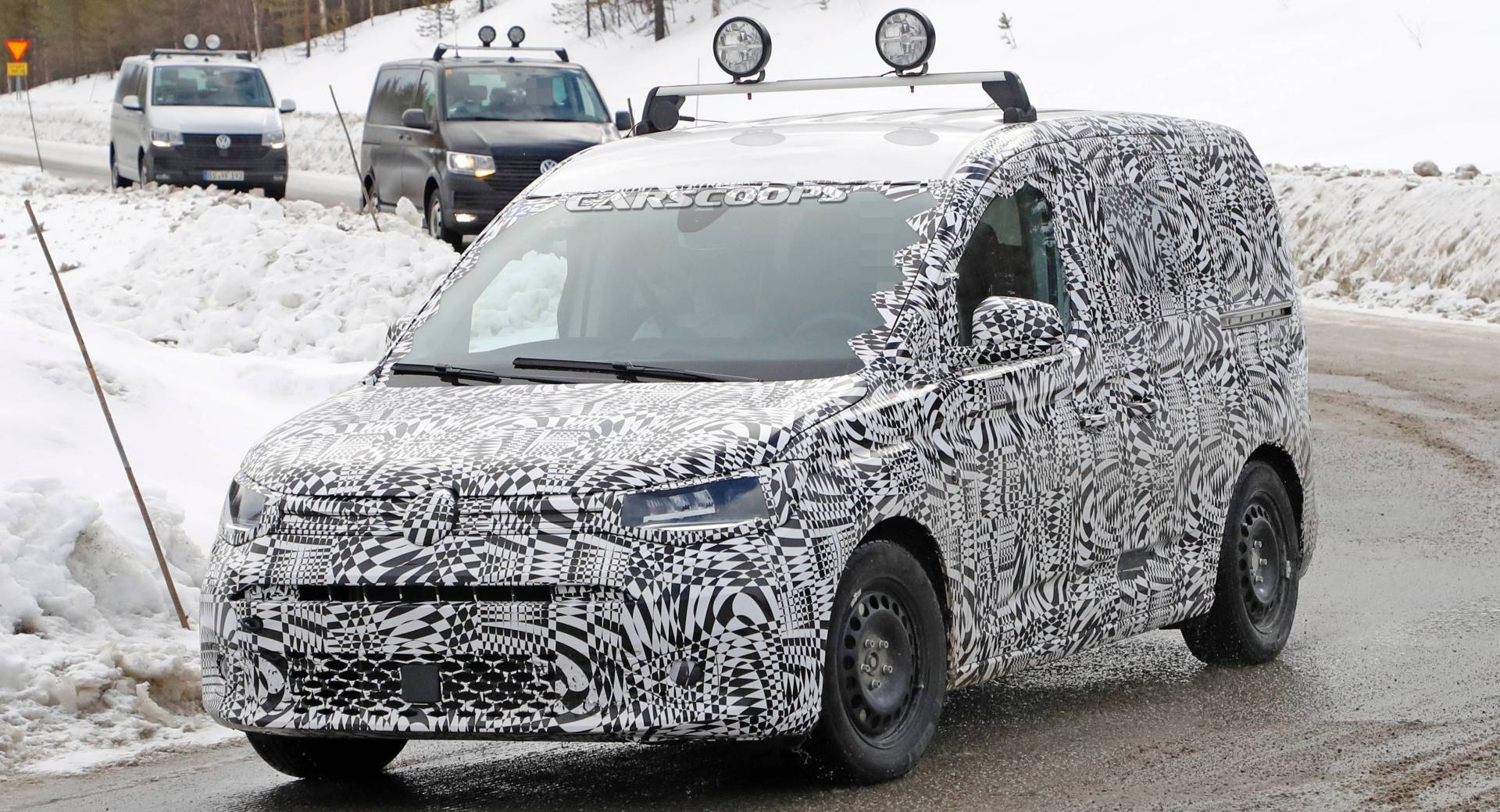 All-New 2021 VW Caddy Compact Van Spotted For The First ...