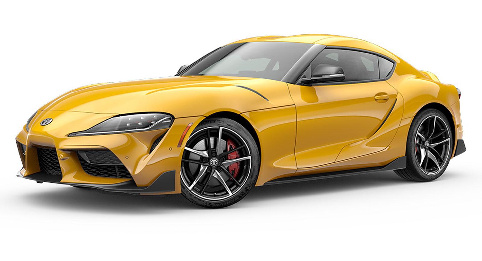 2020 Toyota Supra Gets Pretty Good MPG For A Sports Car ...