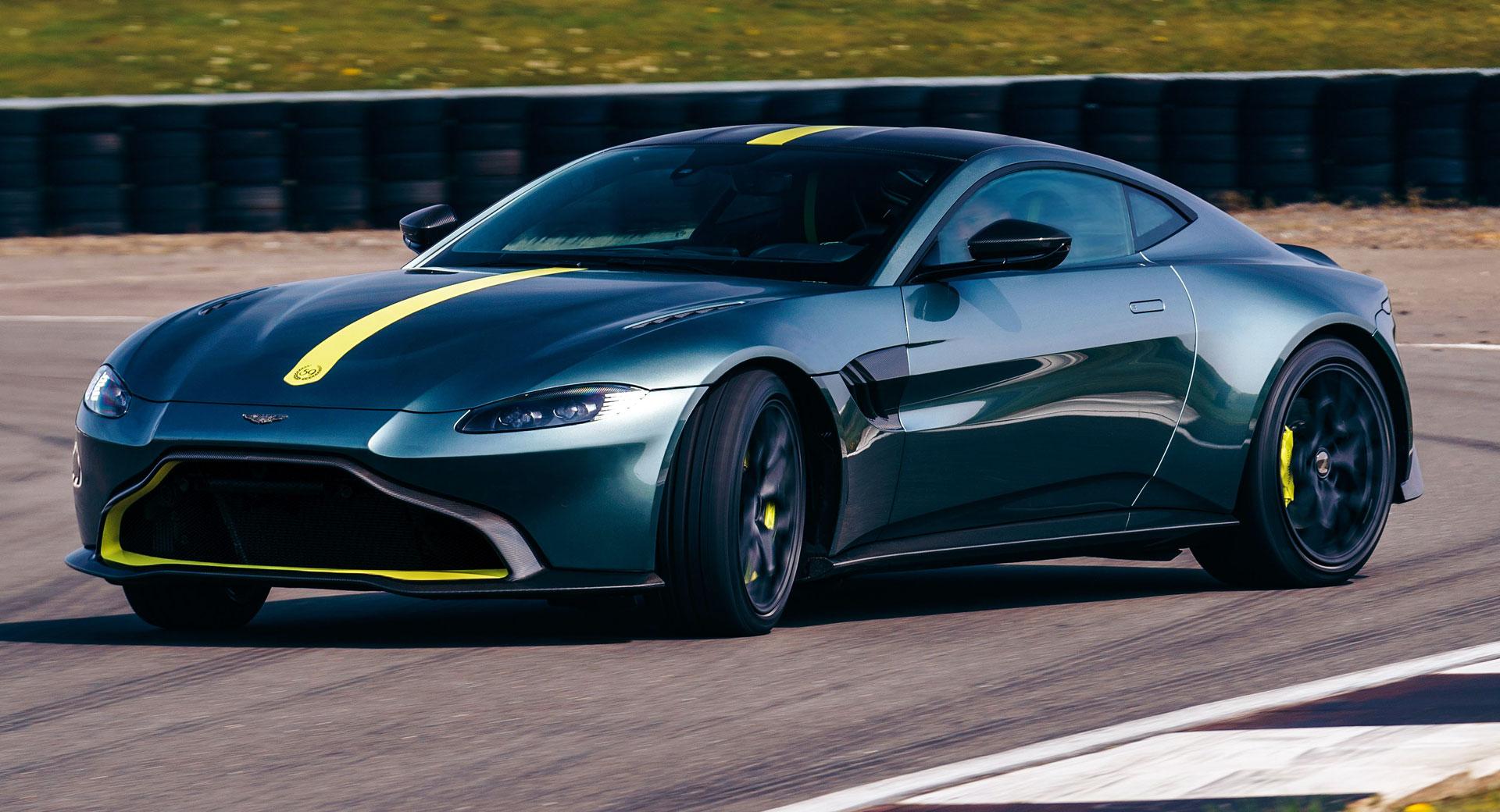 Aston Martin Vantage Amr Gets 7sp Manual But Only 200