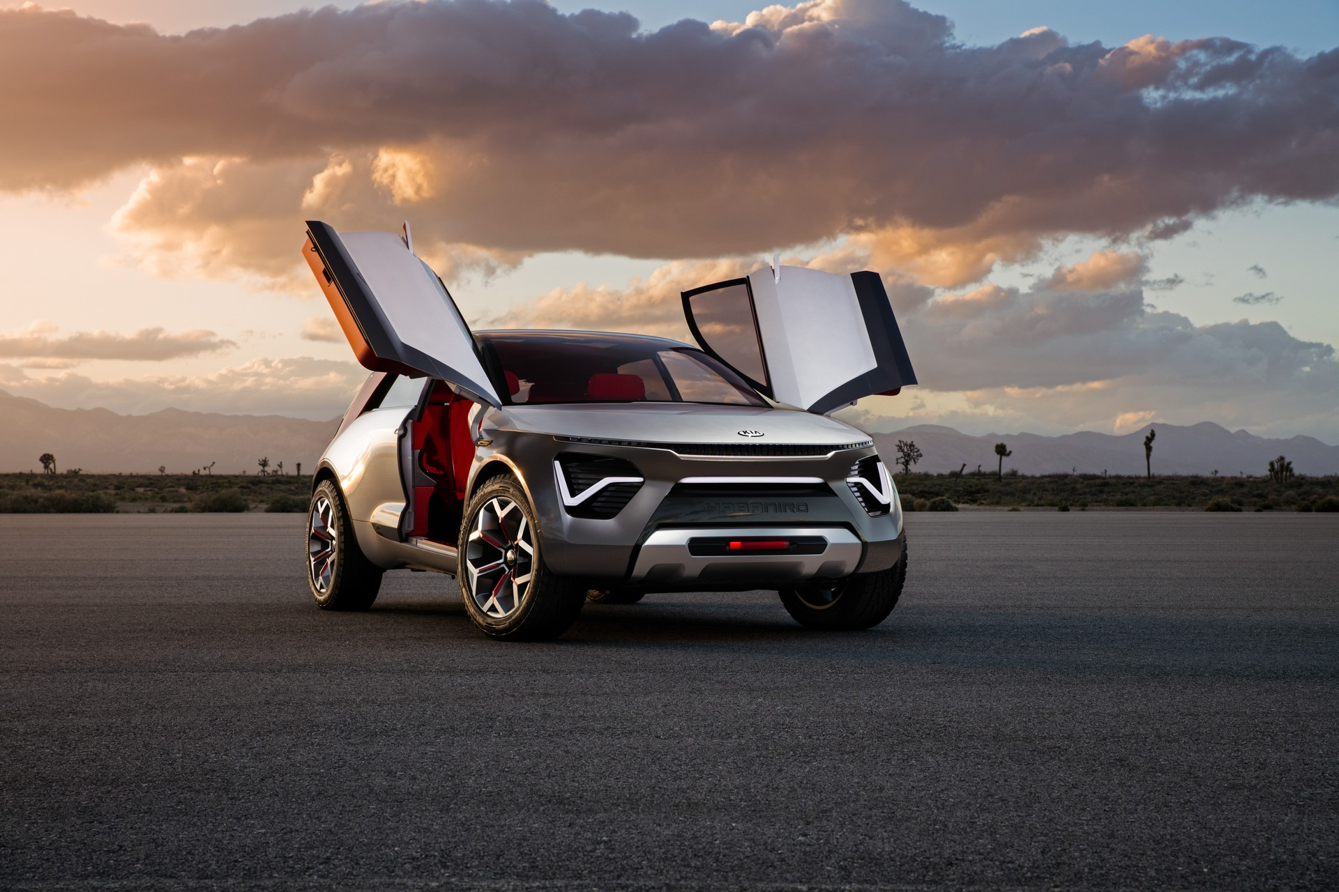 Kia Habanero Concept auto debuts with huge range and radical design