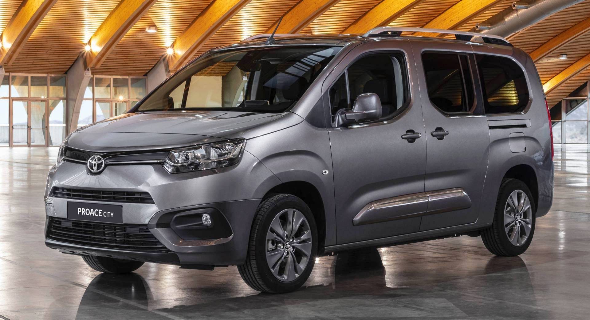 2020 toyota proace city is a rebadged  psa