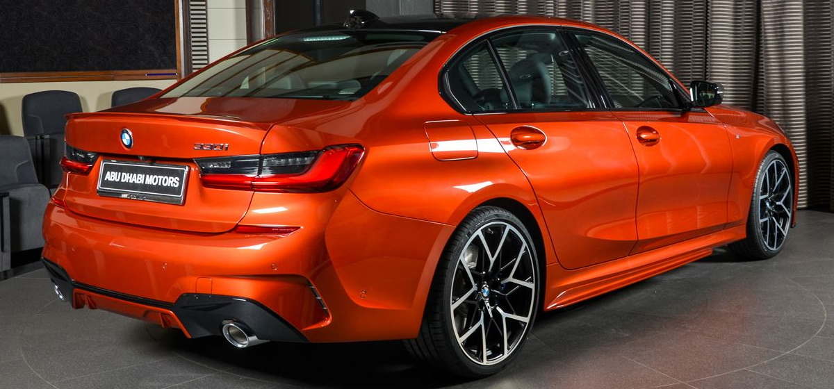 New Bmw 330i M Sport Rocks Sunset Orange Exterior With M Performance Upgrades Carscoops