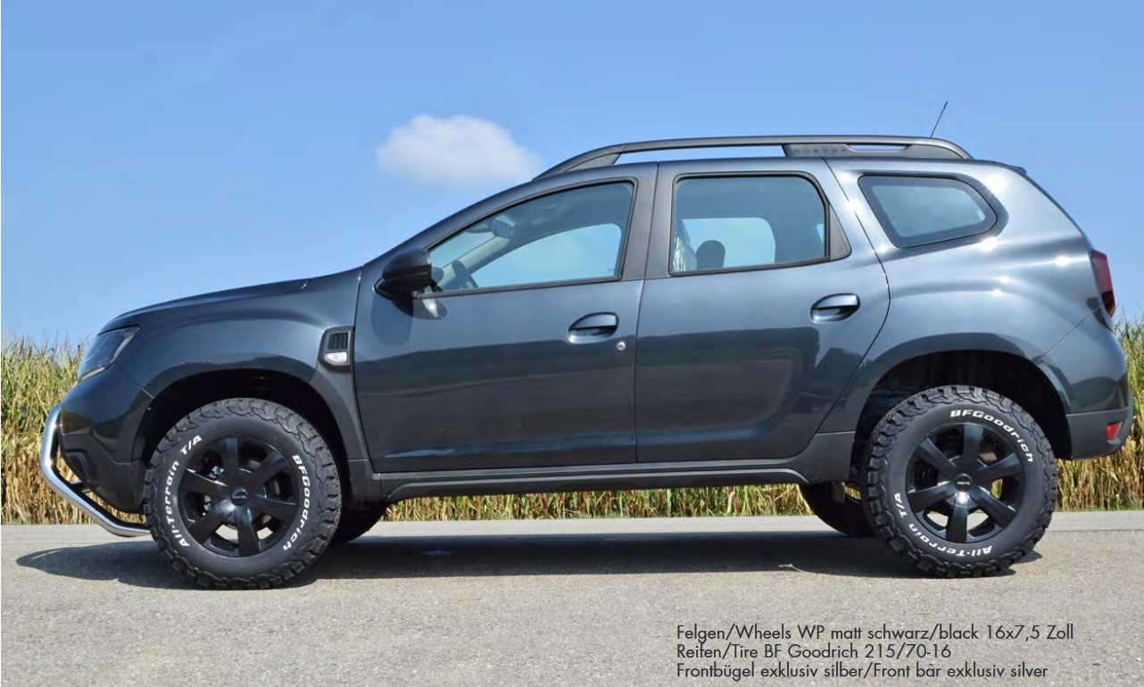 Delta 4x4 Wants To Treat Your Dacia Duster To An Off Road Package Carscoops