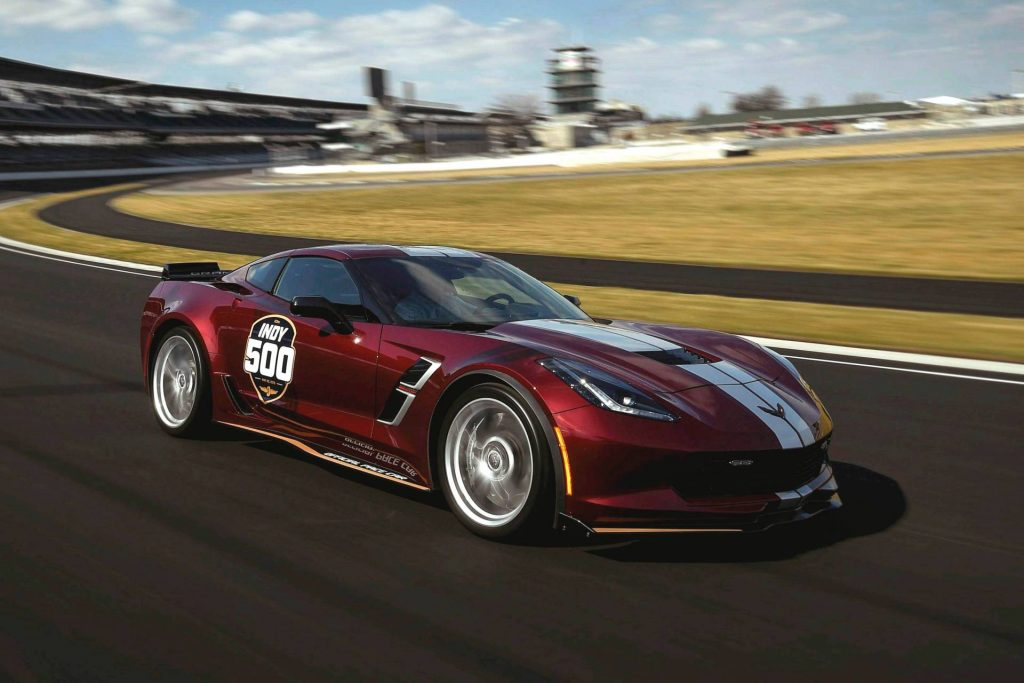 2019 Indy 500 Pace Car: 2019 Corvette Grand Sport Reports For Indy 500 Pace Car