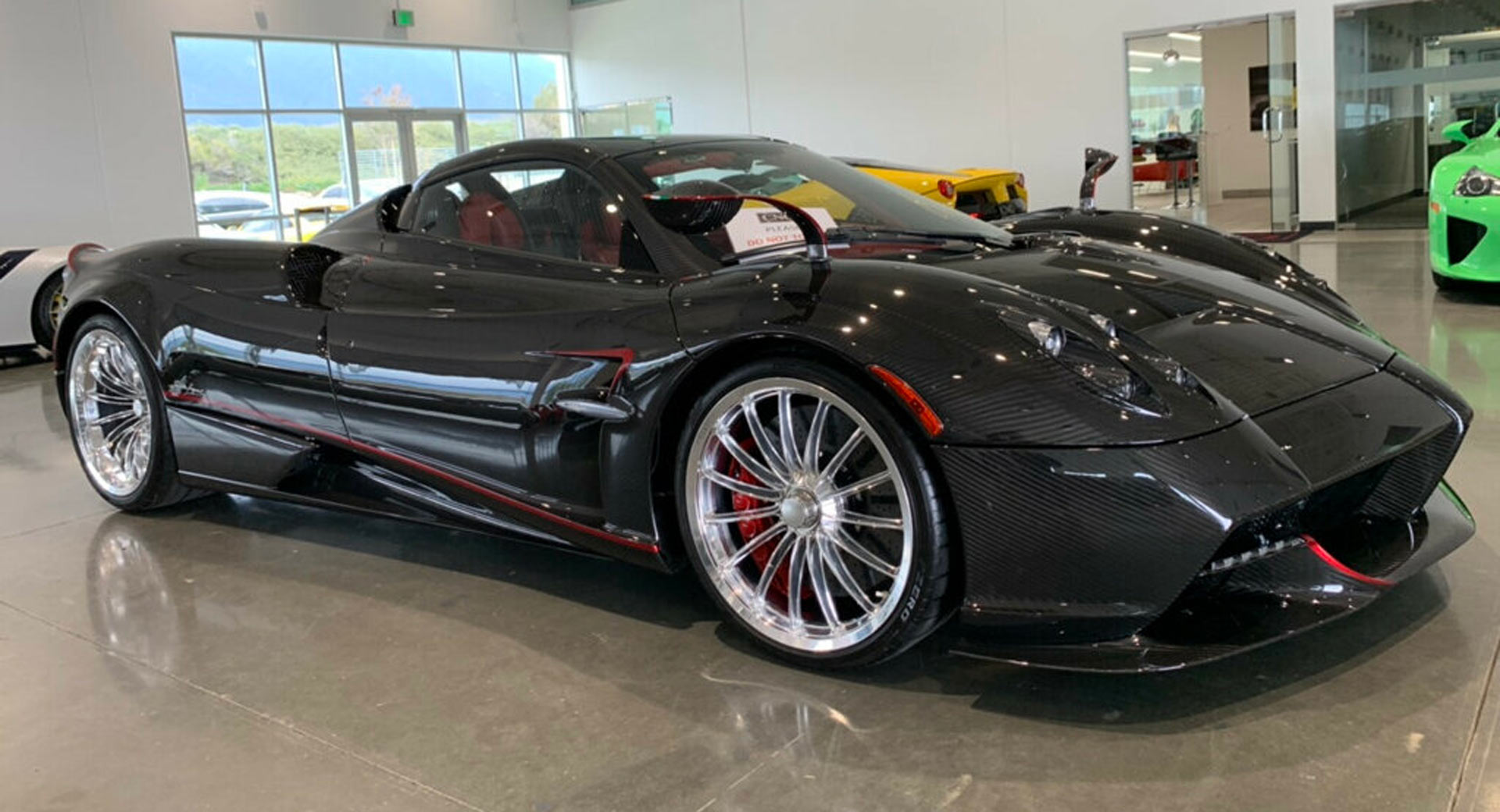 One Percenter Alert 2017 Pagani Huayra Roadster For Less