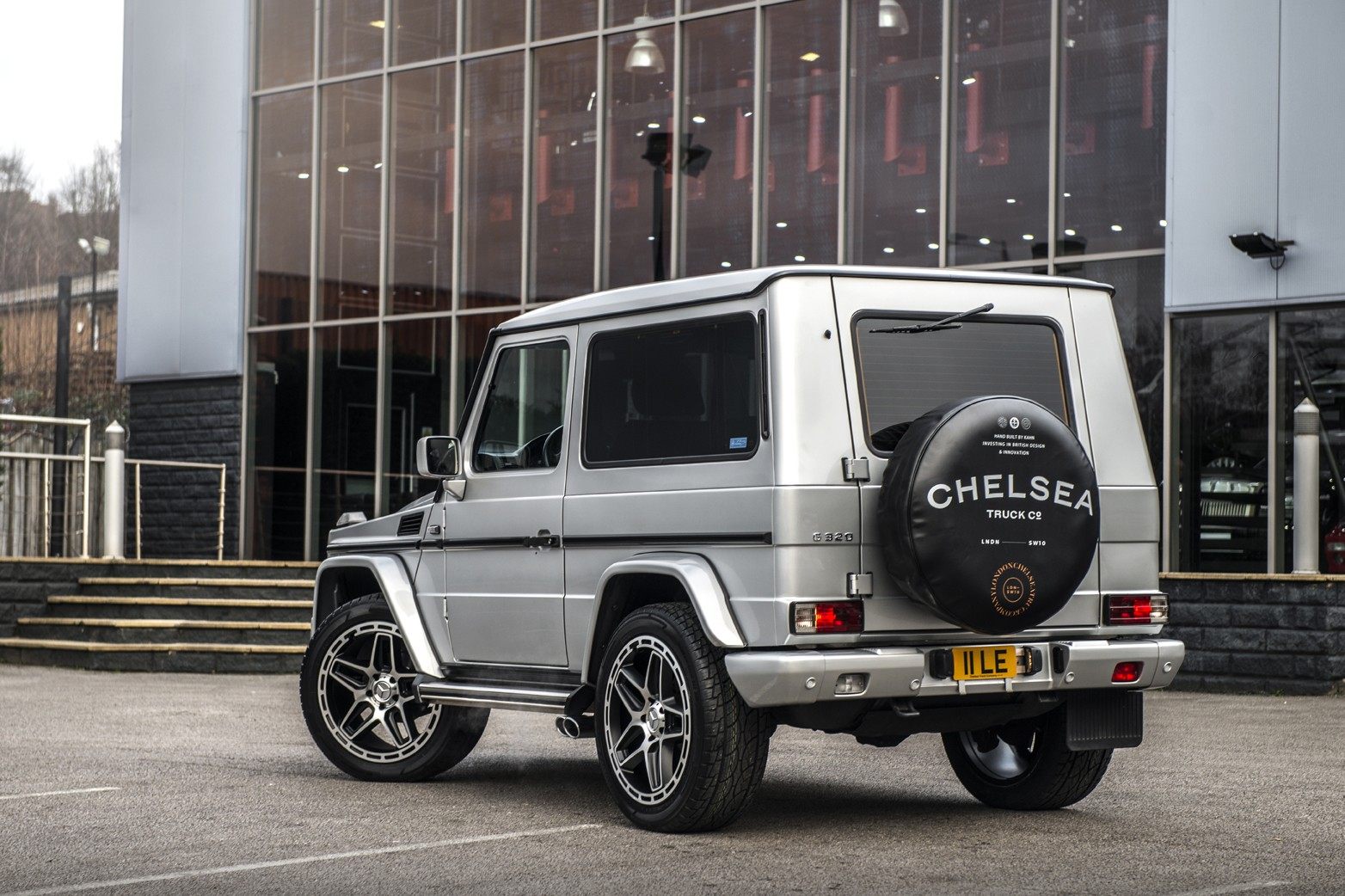 Kahn's 2002 Mercedes G-Class Could Be Yours For A Third Of