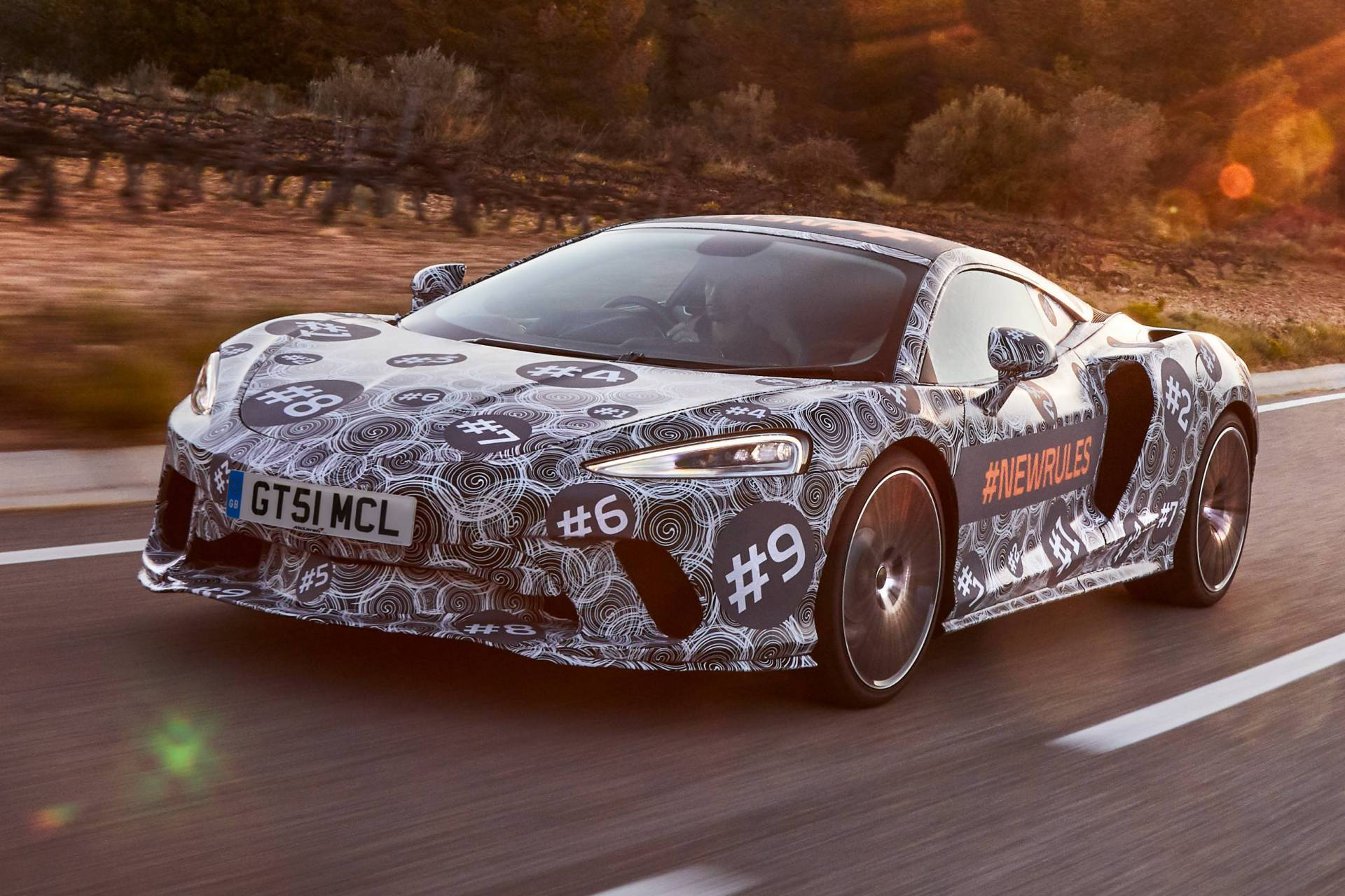 McLaren Grand Tourer ditches cladding