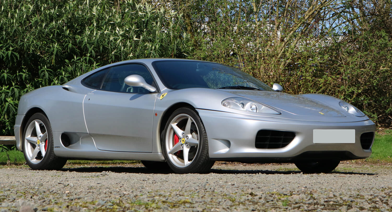 Manual 360 Modena Is Probably The Best Way To Get Into Ferrari Ownership Carscoops