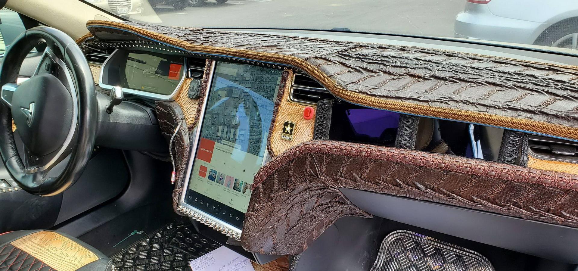 Tesla Model S Custom >> Crocodile Dundee Would Be Proud Of This Tesla Model S Custom