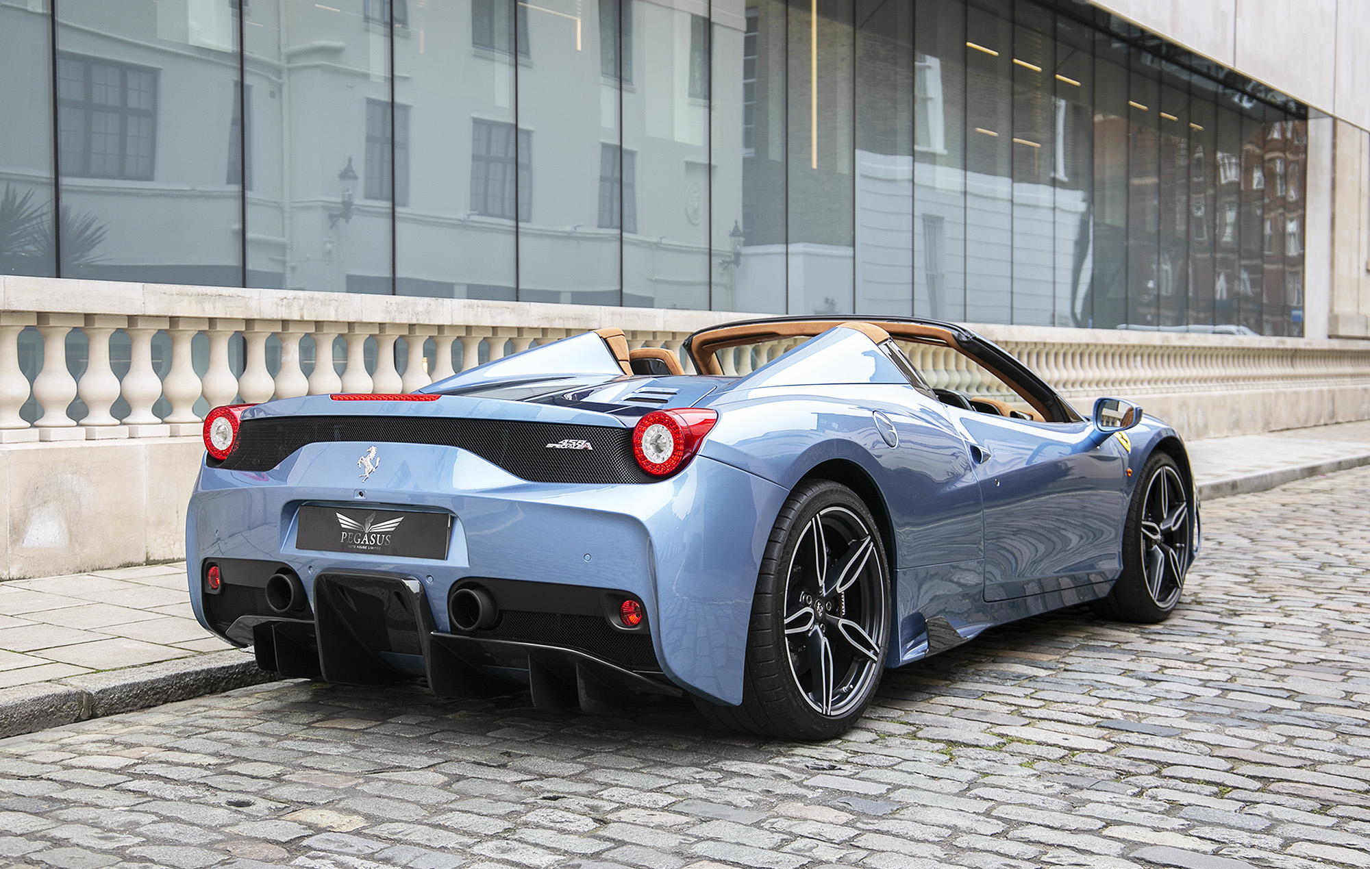 Ferrari 458 Speciale A An 850k Baby Blue Dream Come True Carscoops