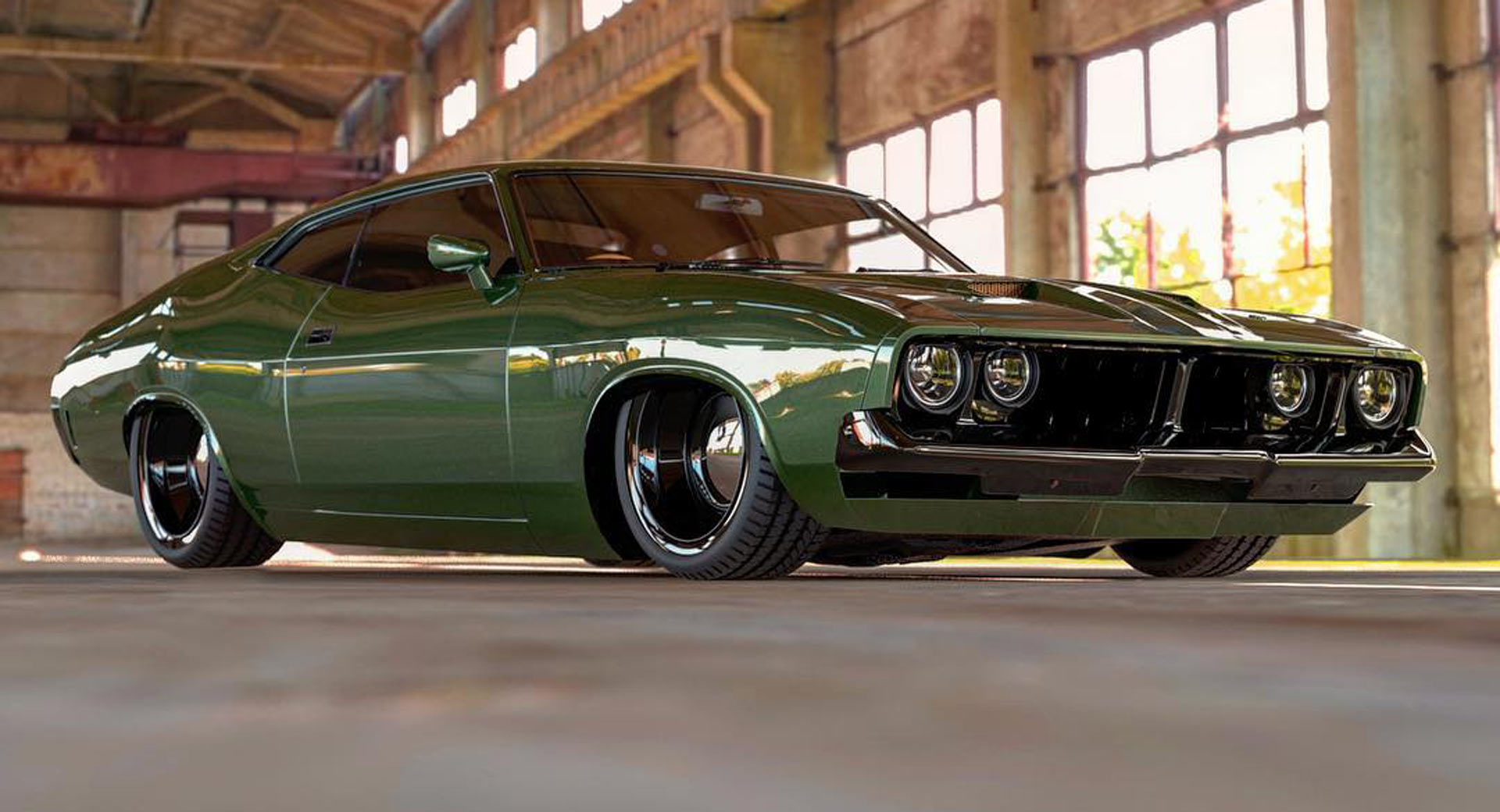 Someone Must Build This Restomod Aussie Ford Falcon Xb Coupe Carscoops