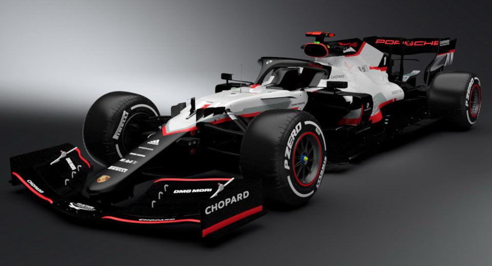 Porsche Built And Tested Formula 1 Engine Before Deciding ...