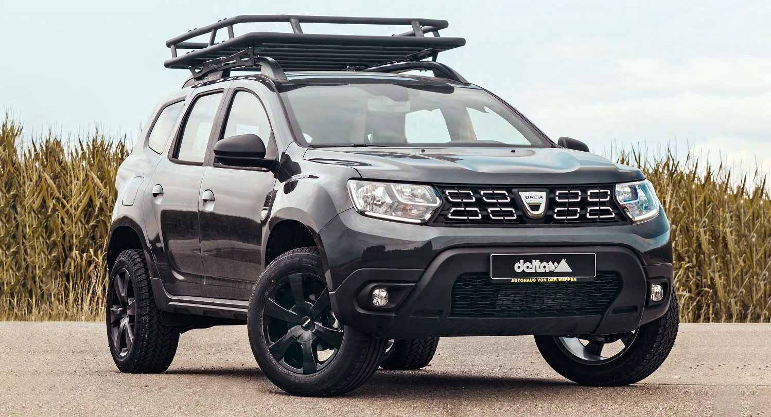 delta 4x4 wants to treat your dacia duster to an off road package carscoops. Black Bedroom Furniture Sets. Home Design Ideas