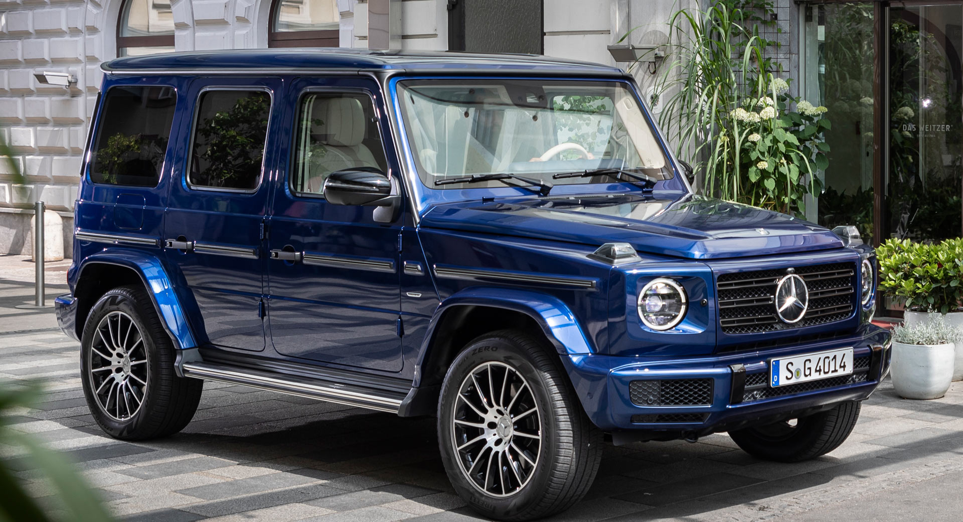 Mercedes G Class Stronger Than Time Edition Celebrates Model S 40th Anniversary Carscoops