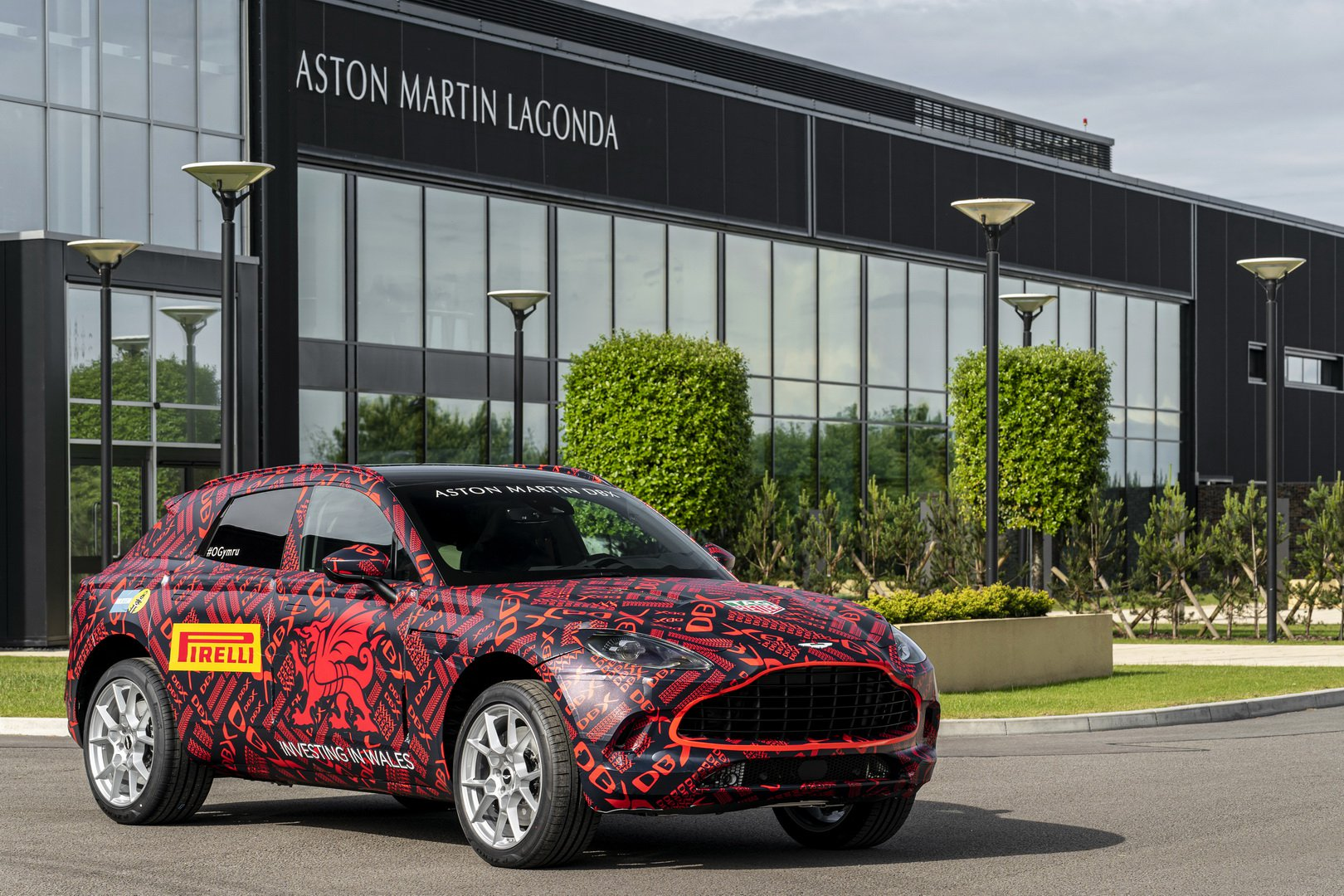 Aston Martin DBX SUV REVEALS its interior - and its price