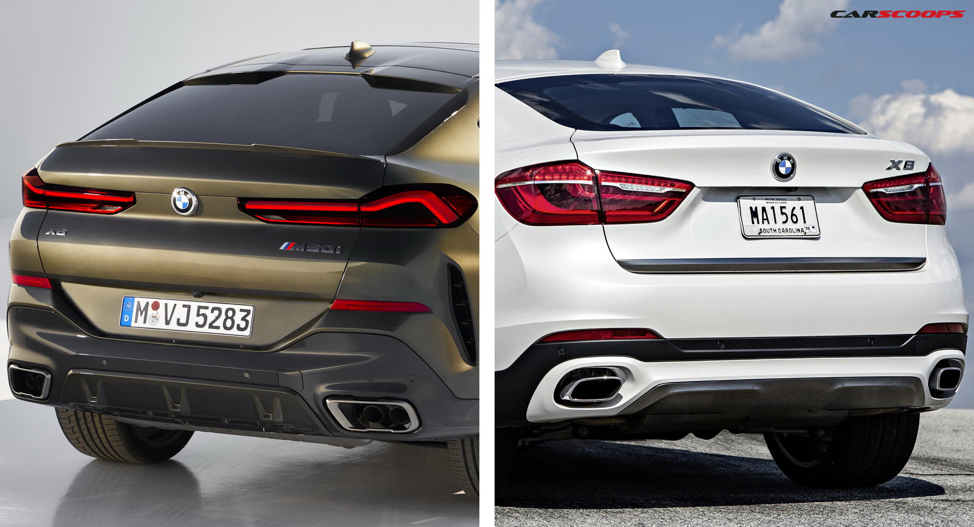 2020 Bmw X6 Versus Its Predecessor Should You Want To Upgrade
