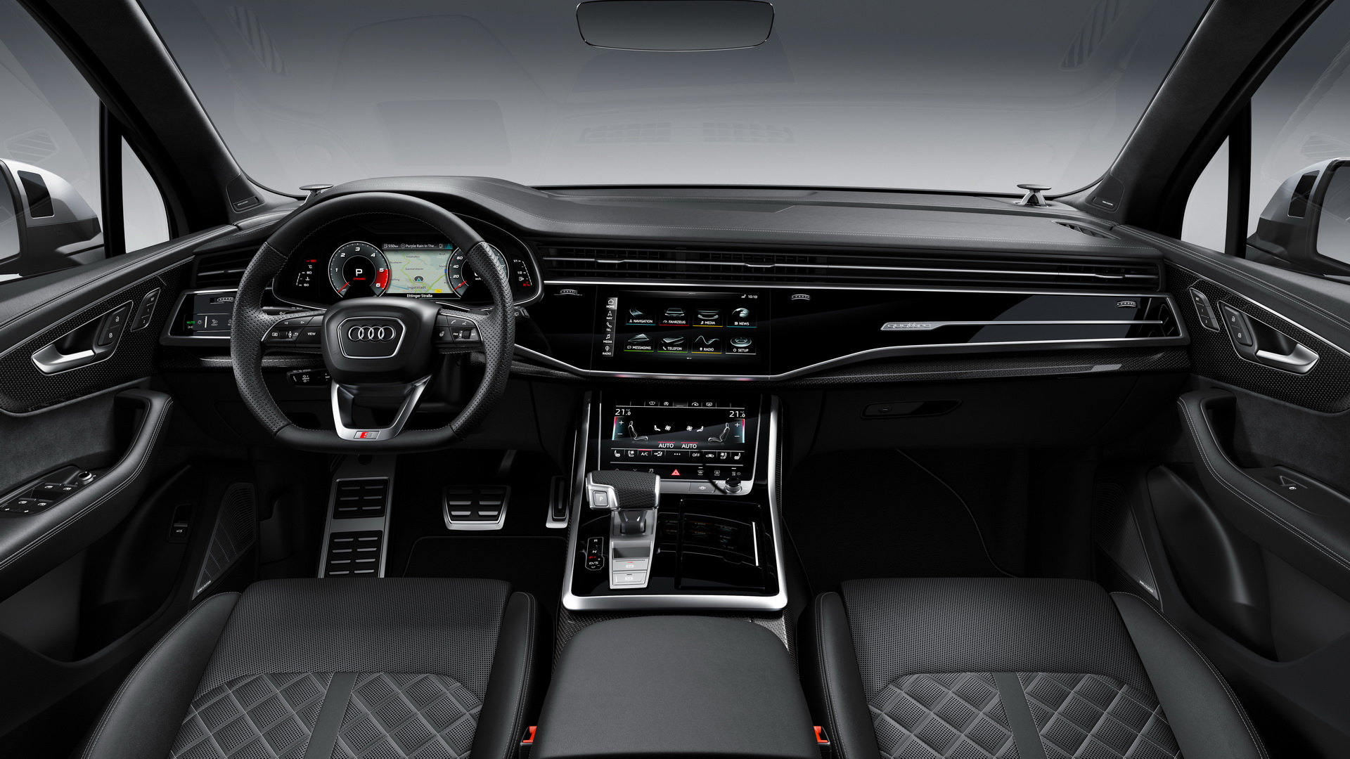 Diesel-powered Audi SQ7 debuts in Europe