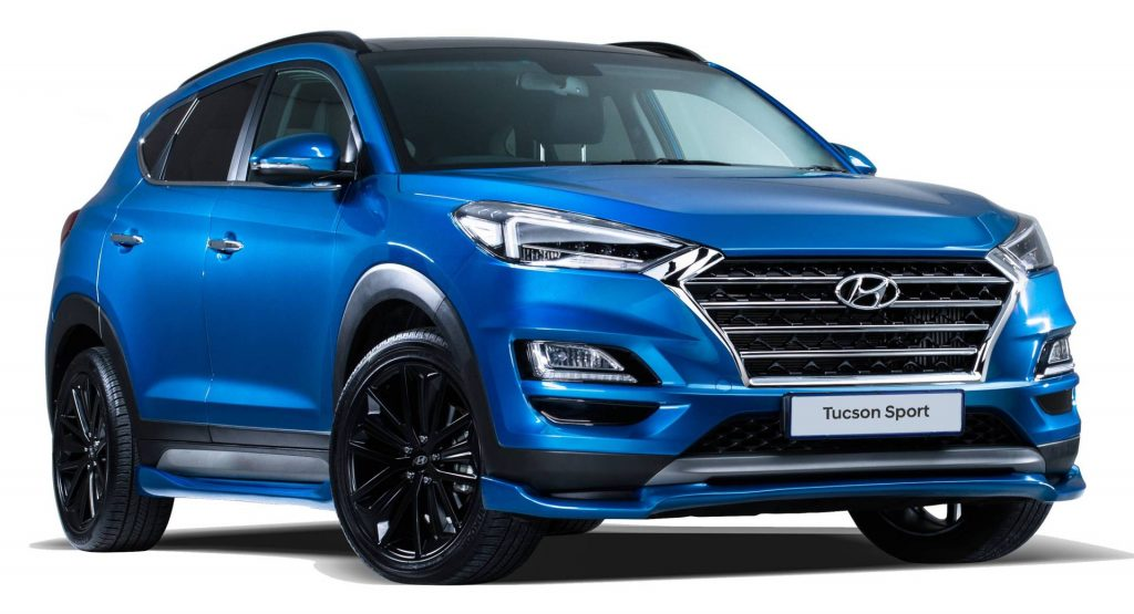 2020 Hyundai Tucson Sport Is Like South Africa S N Line But With 201 Hp Carscoops