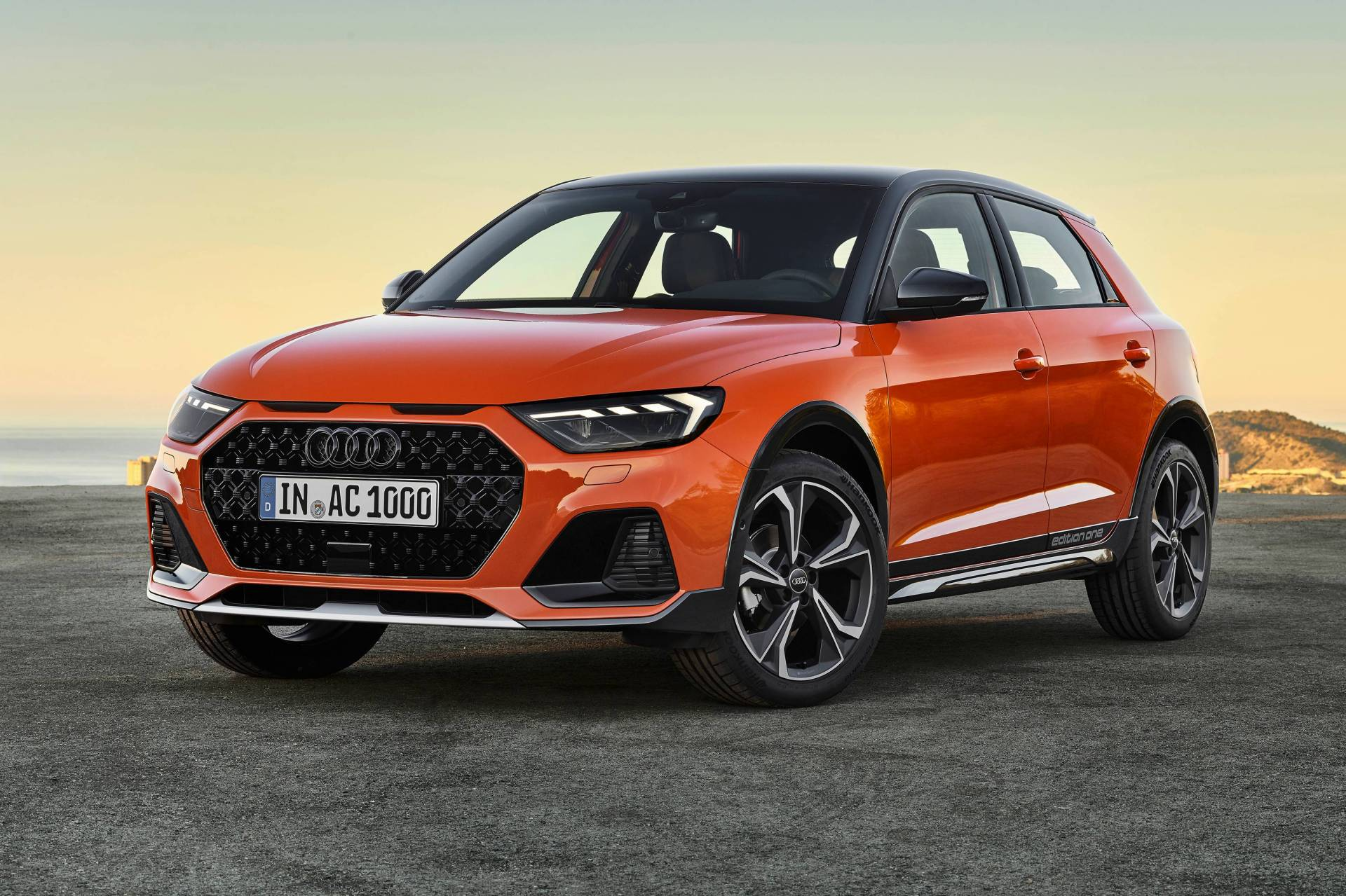 The new Audi A1 'citycarver' is a lightly raised city auto