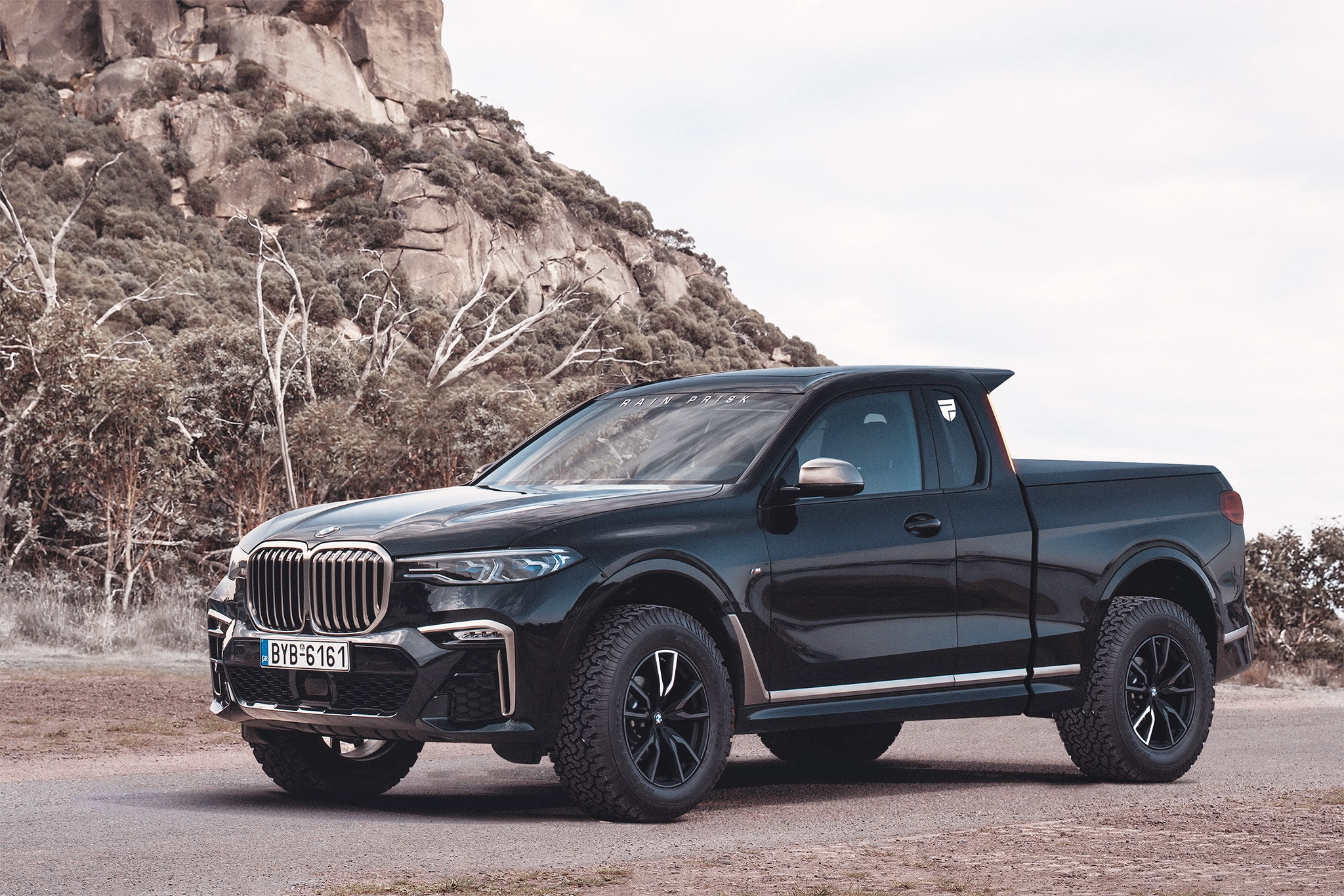 Bmw Could Have Made The X7 Pickup Much More Rugged Like This