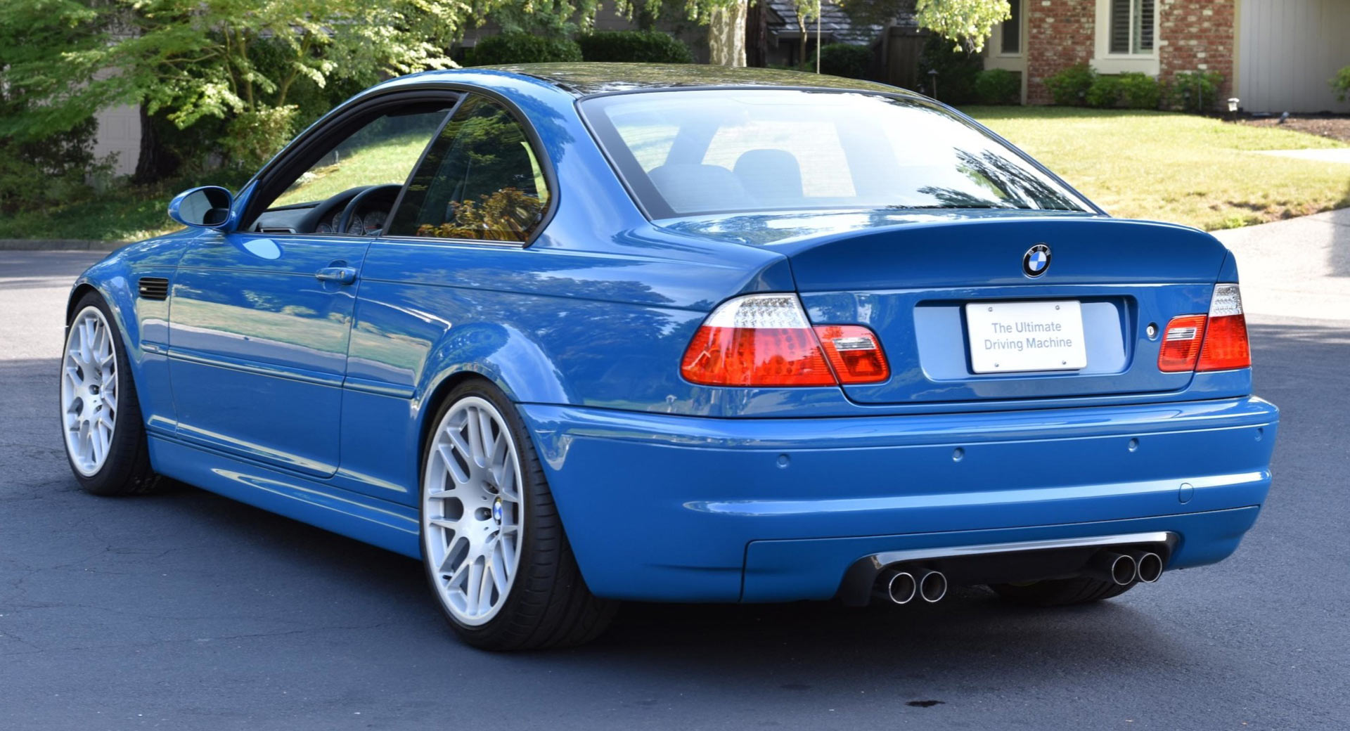 This 16k Mile Manual 2003 Bmw M3 E46 Is Stunning But It S
