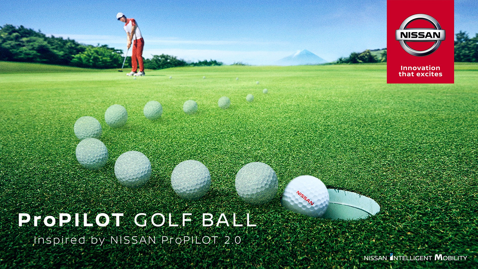 New golf ball will help you to make the putt every time