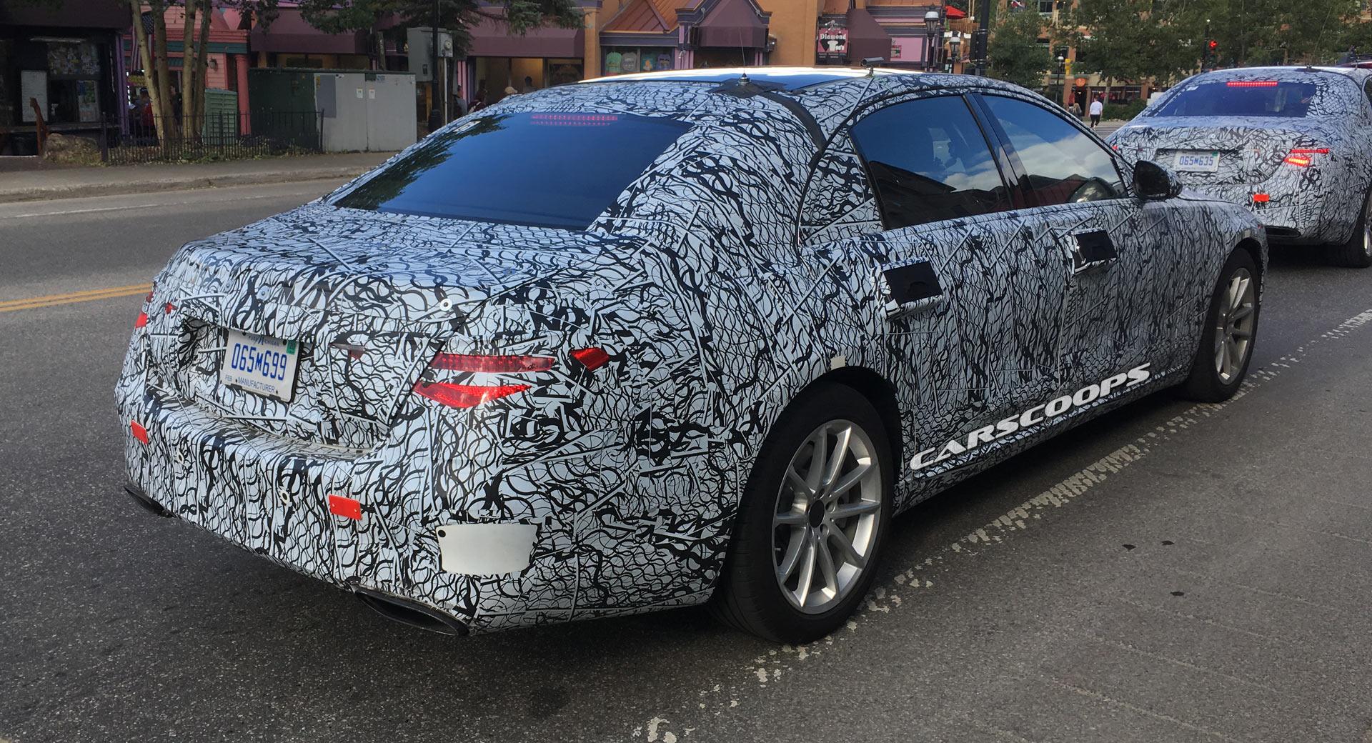 U Spy The New 2020 Mercedes-Benz S-Class With Triangular ...