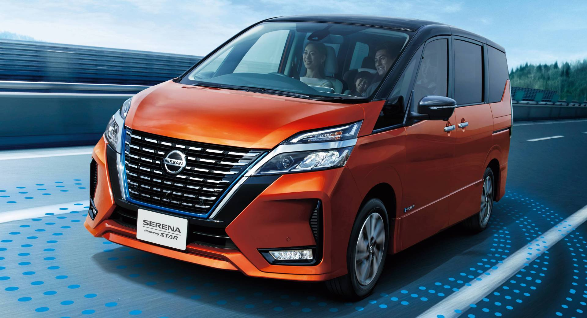 Japan's Facelifted Nissan Serena Becomes Smarter, Safer ...
