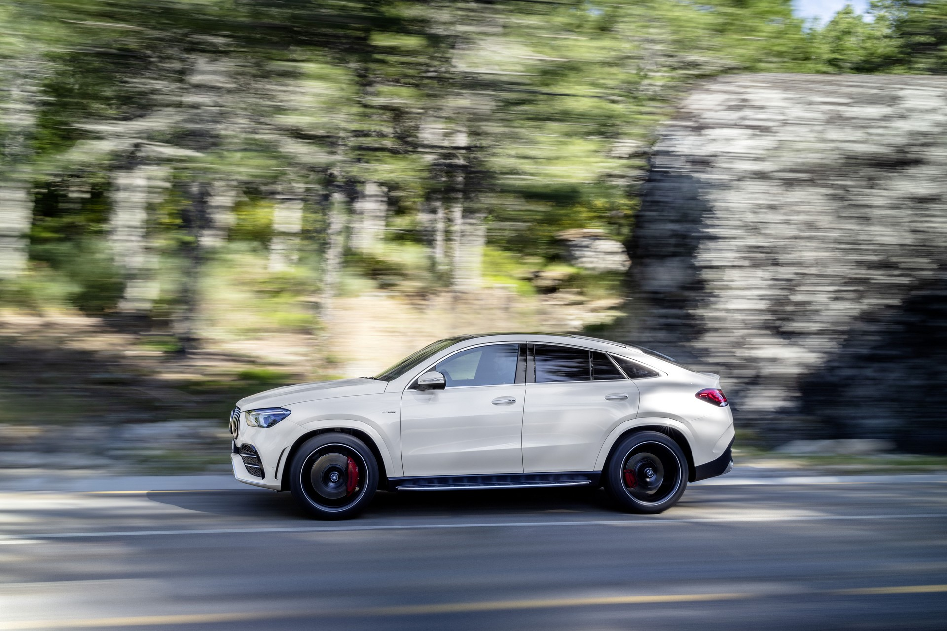 Mercedes-Benz GLE Coupe is one sleek SUV