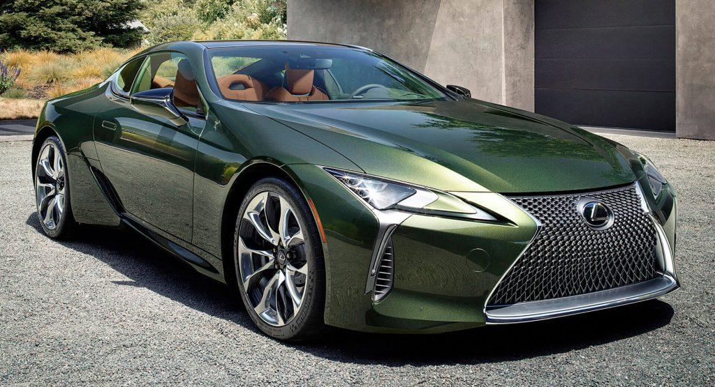 2020 lexus lc 500 goes  u0026quot green u0026quot  with inspiration series