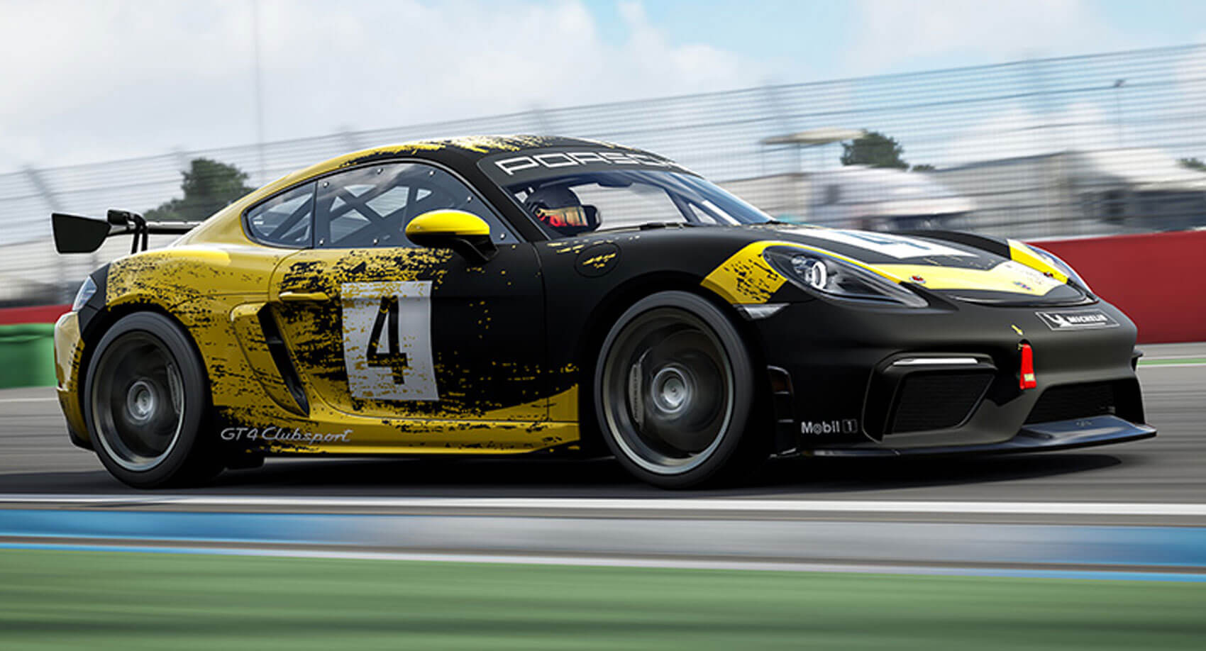 Race The New Porsche 718 Cayman Gt4 Clubsport In Forza Motorsport 7 Carscoops