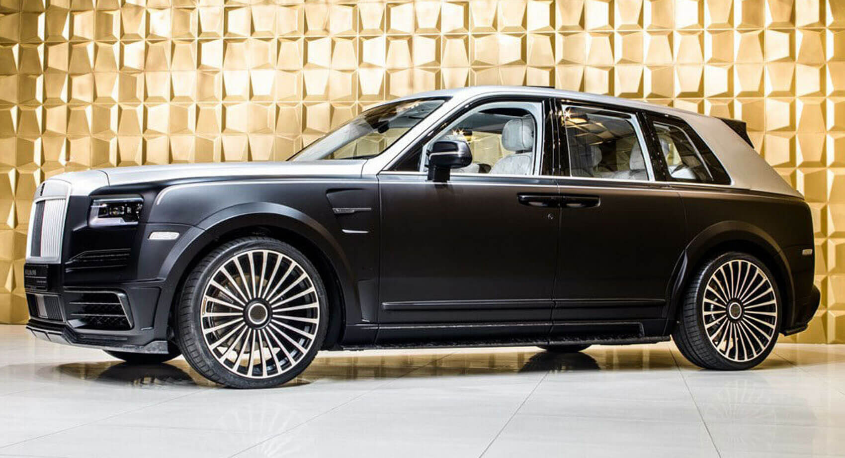 Mansory's Rolls-Royce Cullinan Billionaire Will Set You Back
