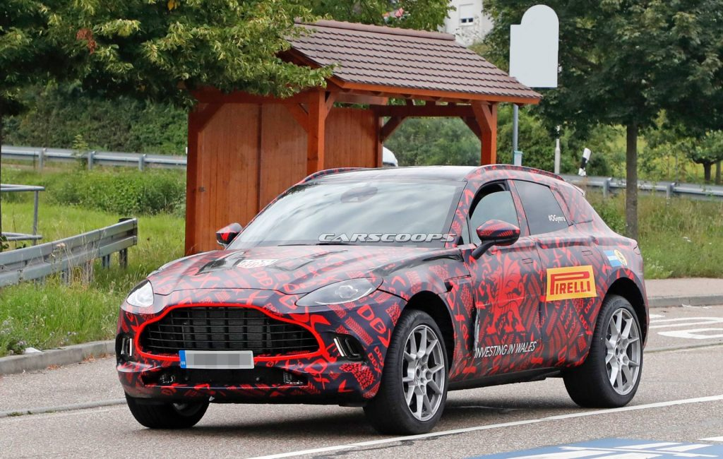 2020 Aston Martin DBX: Design, Powertrains, Arrival >> 2020 Aston Martin Dbx Renders Are The Next Best Thing To