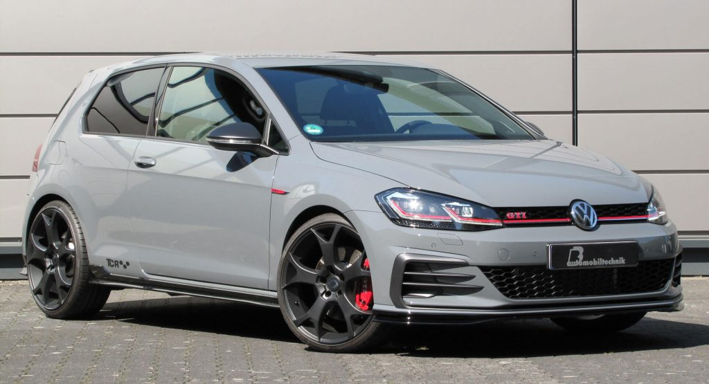 450ps Vw Golf Gti Tcr Is One Brave Fwd Mega Hatch Carscoops