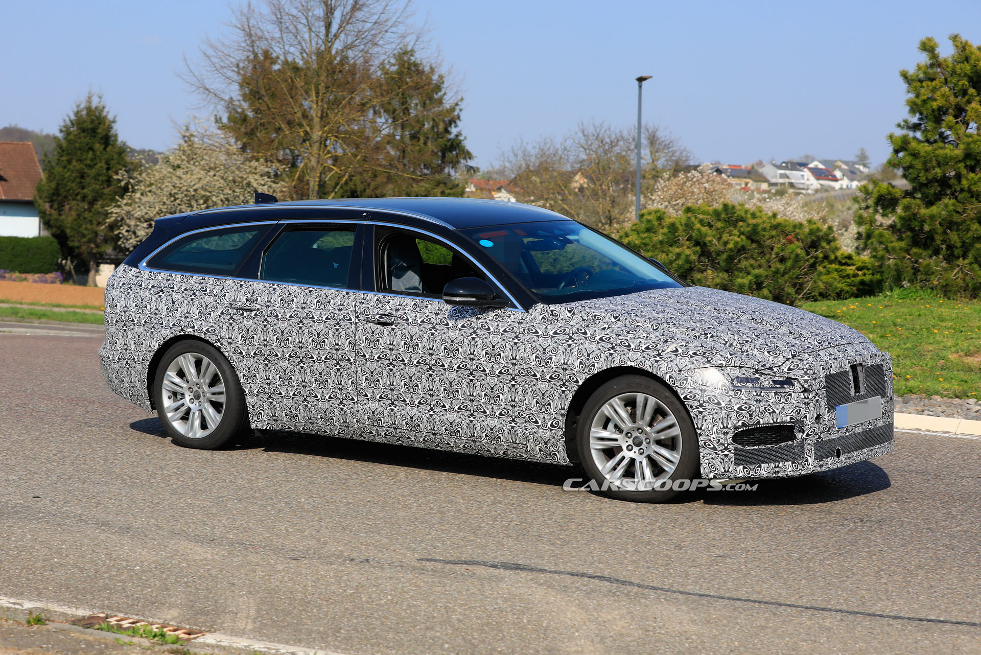 jaguar brings out facelifted 2021 xf sportbrake out for