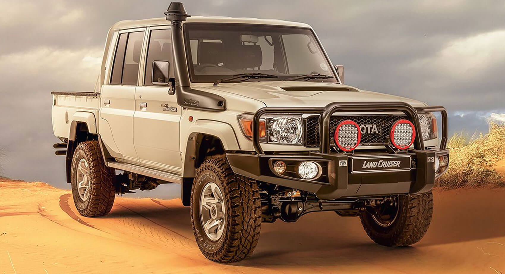 Toyota Land Cruiser 70 >> New Toyota Land Cruiser Namib Is Made For Africa's Tough ...