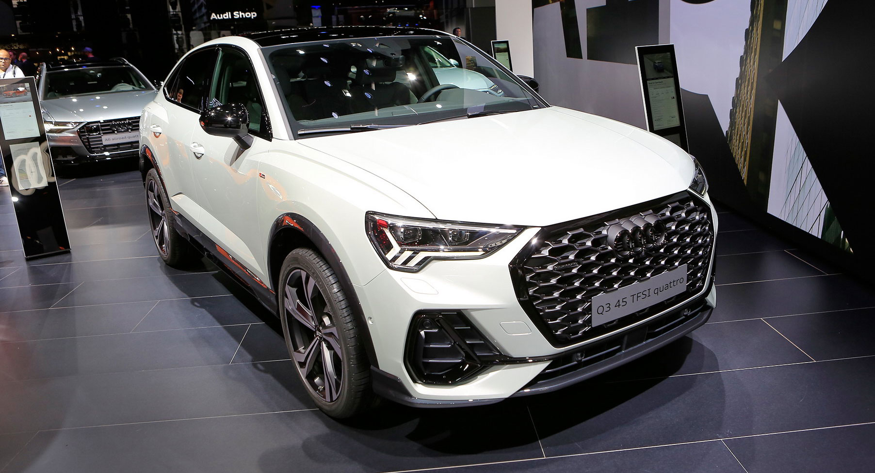 2020 Audi Q3 Sportback Just Another Bold Brick In The Coupe Suv Wall Carscoops