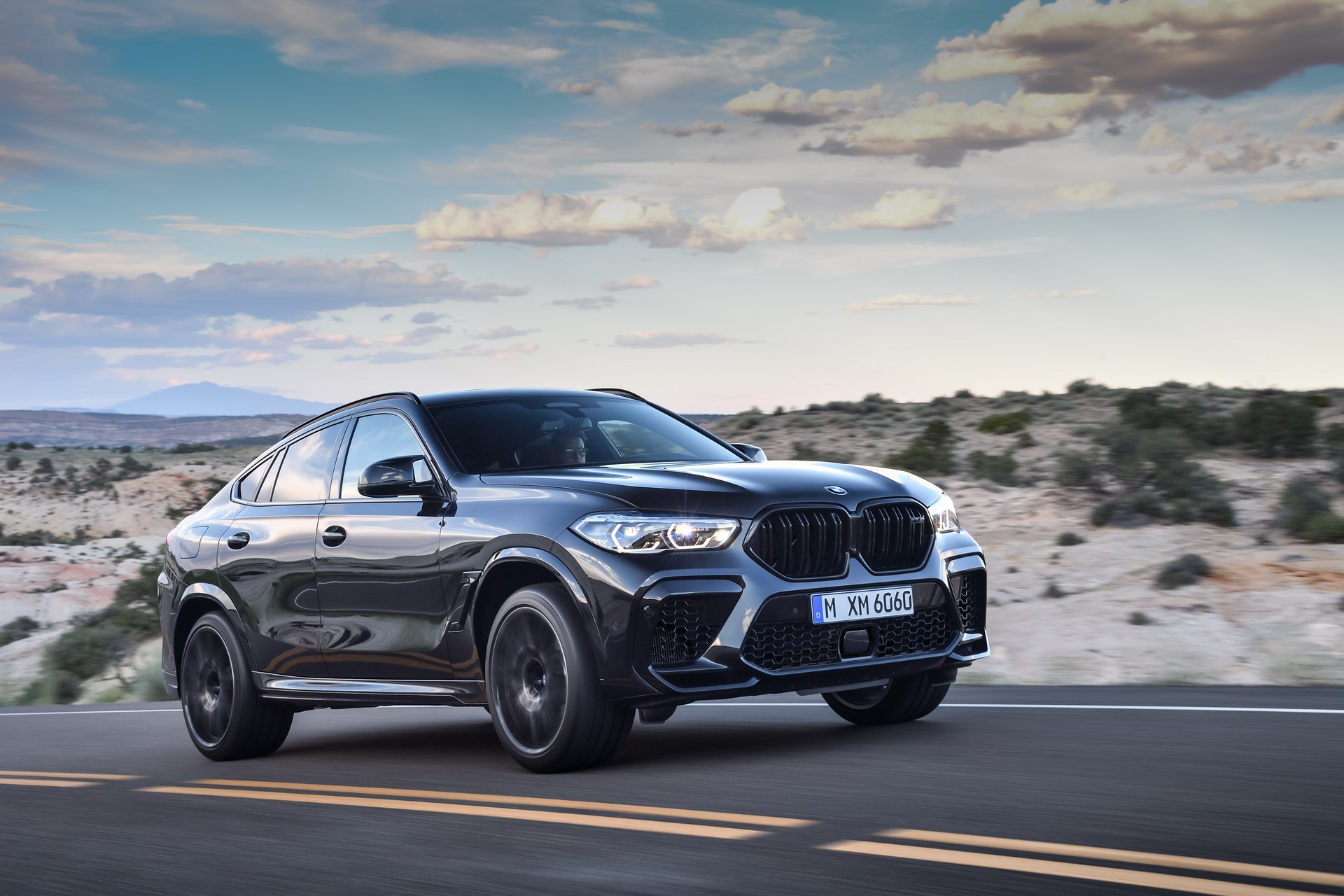 BMW X6 M Competition: 625hp SUV Coupe Revealed